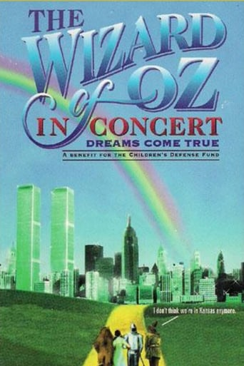 Poster of The Wizard of Oz in Concert: Dreams Come True