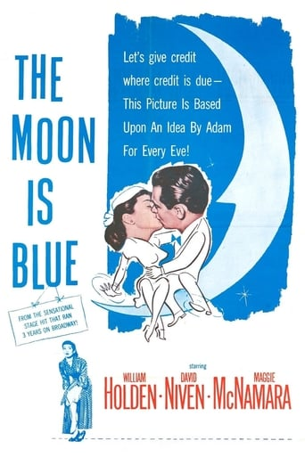 Poster of The Moon Is Blue