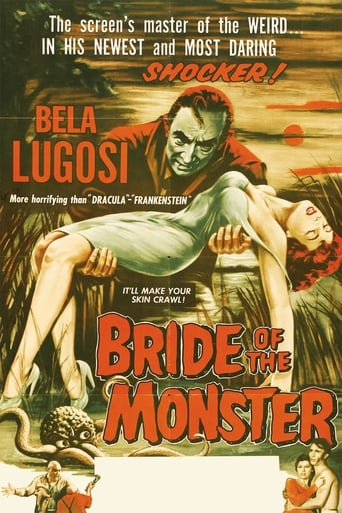 Poster of Bride of the Monster