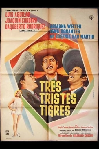 Poster of Tres tristes tigres