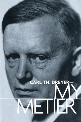 Poster of Carl Th. Dreyer: My Metier
