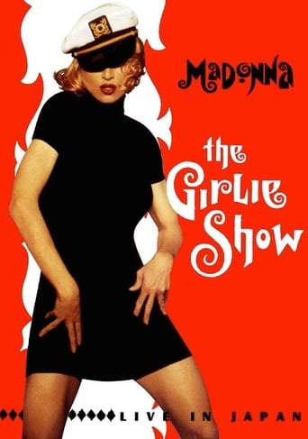Poster of Madonna: The Girlie Show Live in Japan 1993