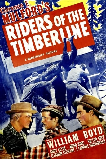 Poster of Riders of the Timberline