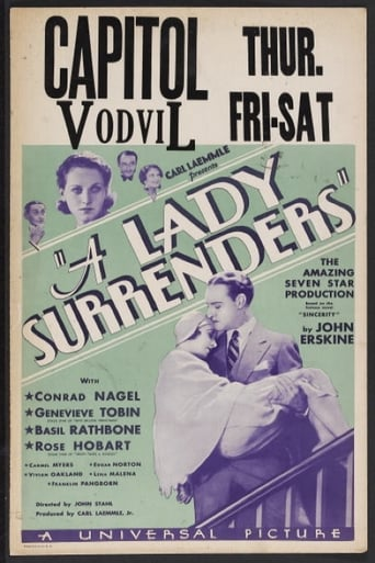 Poster of A Lady Surrenders