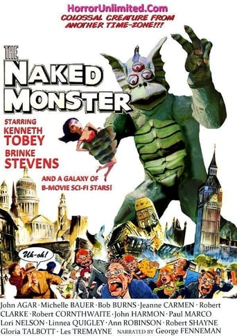 Poster of The Naked Monster