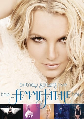 Poster of Britney Spears Live: The Femme Fatale Tour