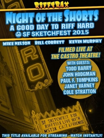 Rifftrax live: Night of the Shorts - SF Sketchfest 2015