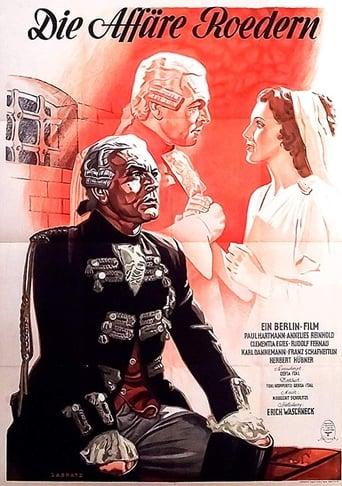 Poster of Die Affäre Roedern