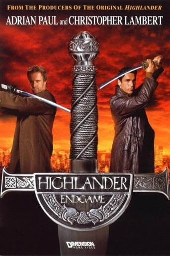 Poster of Highlander: Endgame