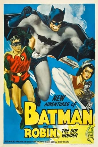 Poster of Batman and Robin (1949)