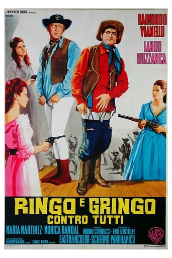Poster of Ringo and Gringo Against All