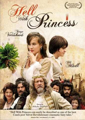 Poster of It Is Hell with the Princess
