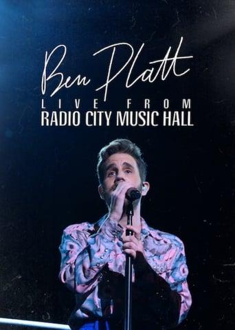 Poster of Ben Platt: Live from Radio City Music Hall