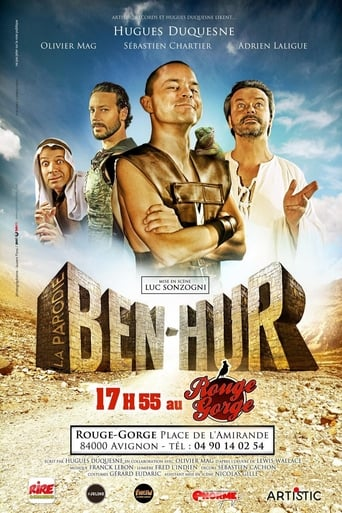 Poster of Ben Hur, la parodie
