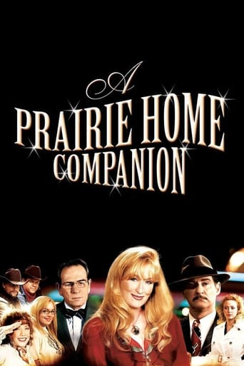 Poster of A Prairie Home Companion