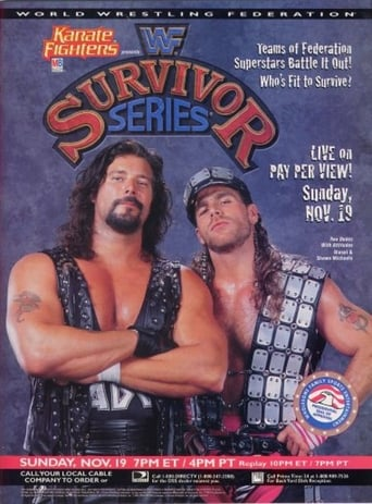 Poster of WWE Survivor Series 1995