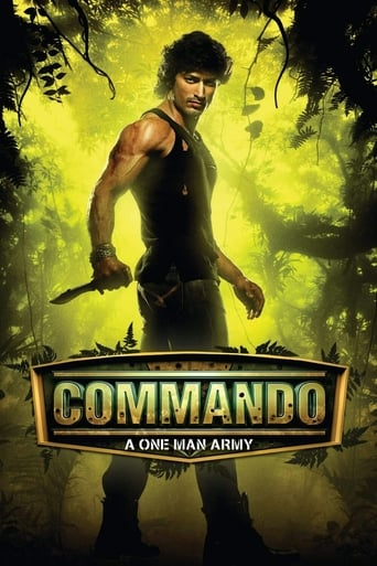 Poster of Commando - A One Man Army