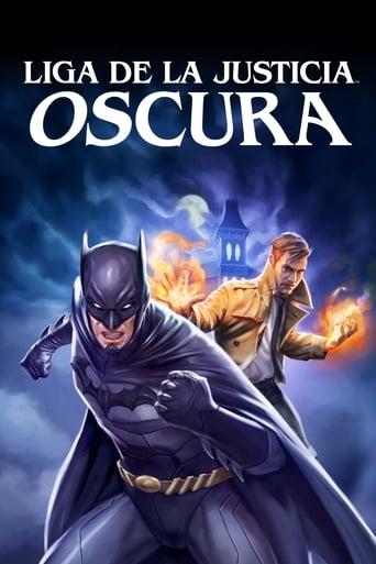 Poster of La Liga de la Justicia Oscura