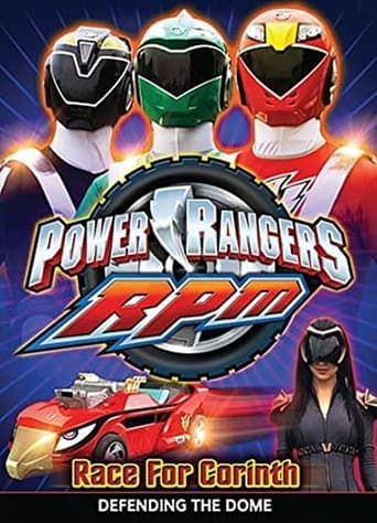 Poster of Power Rangers RPM: Race For Corinth