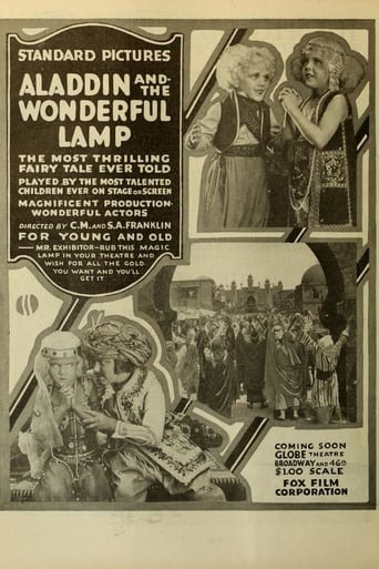 Poster of Aladdin and the Wonderful Lamp