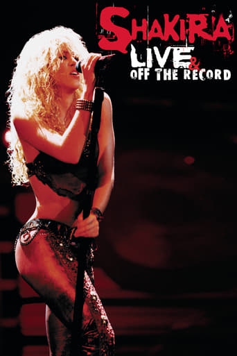 Poster of Shakira: Live & Off the Record