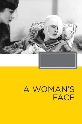 Poster of A Woman's Face