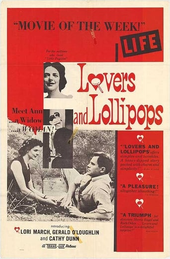 Poster of Lovers and Lollipops