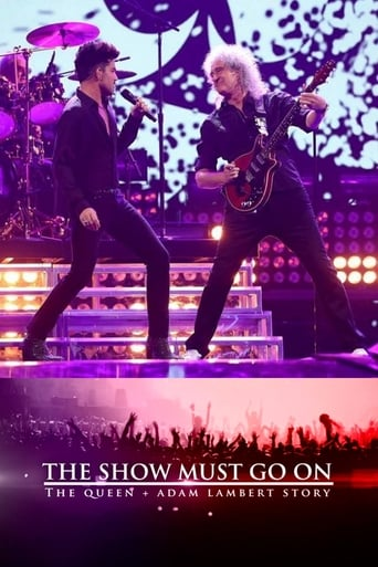 Poster of The Show Must Go On: The Queen + Adam Lambert Story