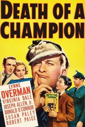 Poster of Death of a Champion