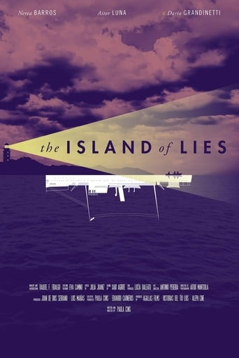 Poster of The Island of Lies