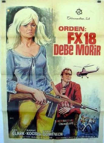 Poster of FX 18, Secret Agent