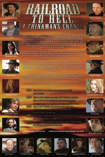 Poster of Railroad to Hell: A Chinaman's Chance