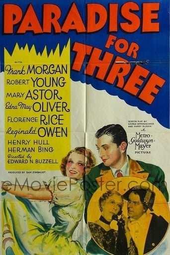 Poster of Paradise for Three