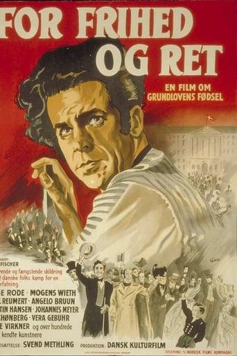 Poster of For frihed og ret