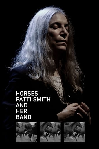 Poster of Horses: Patti Smith and Her Band