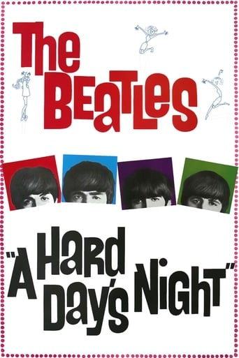 Poster of A Hard Day's Night