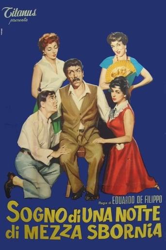 Poster of Sogno di una notte di mezza sbornia