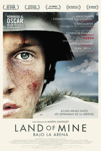 Poster of Land of Mine (Bajo la arena)