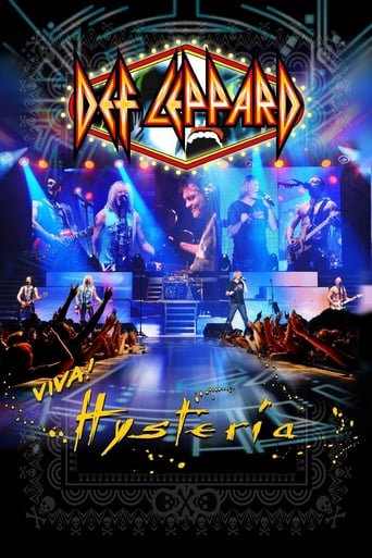 Poster of Def Leppard Viva! Hysteria - Ded Flatbird Friday 29 March 2013