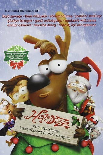 Poster of Holidaze: The Christmas That Almost Didn't Happen