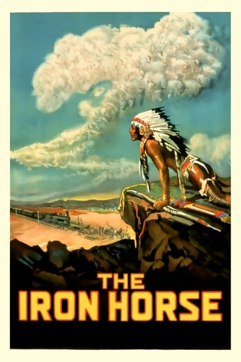 Poster of The Iron Horse