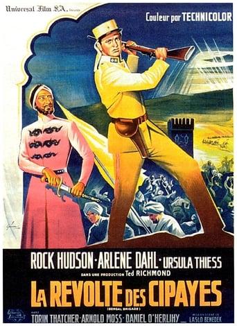 Poster of La Révolte des Cipayes