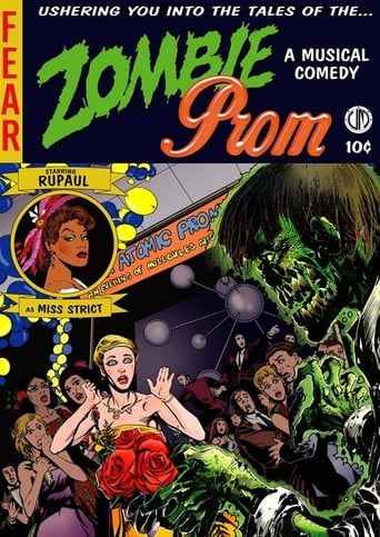 Poster of Zombie Prom