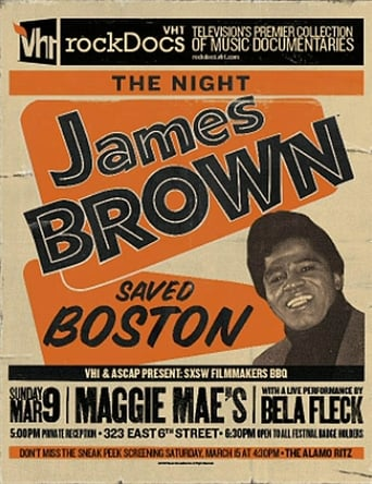 Poster of The Night James Brown Saved Boston