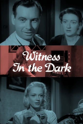 Poster of Witness in the Dark