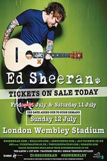 Poster of Ed Sheeran - Live At Wembley Stadium