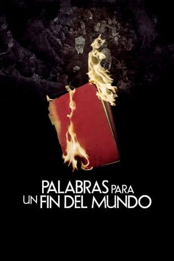 Poster of Palabras para un fin del mundo