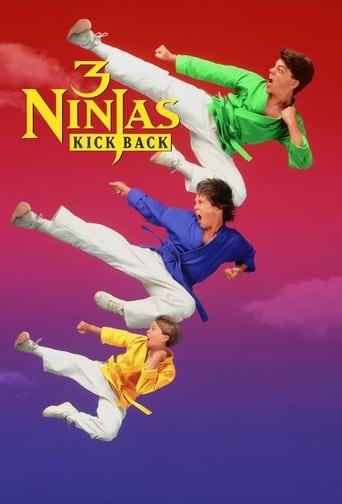 Poster of 3 Ninjas Kick Back