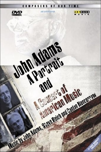 Poster of John Adams: A Portrait and A Concert of Modern American Music