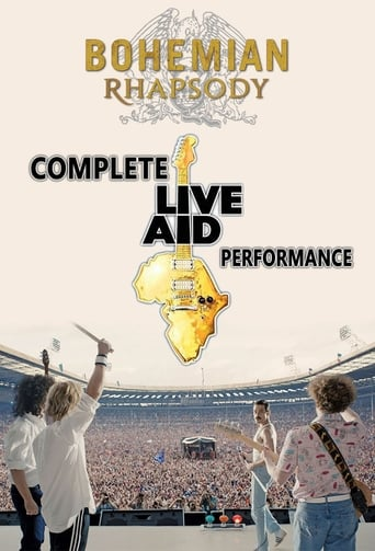 Bohemian Rhapsody: Complete Live Aid Performance poster